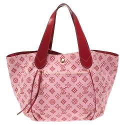 Louis Vuitton Red Canvas Cabas Limited Edition Ipanema GM Bag