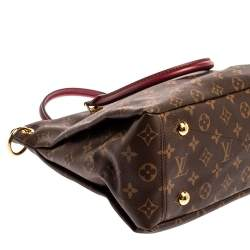 Louis Vuitton Monogram Canvas Pallas MM Bag