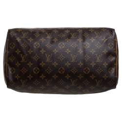 Louis Vuitton Monogram Canvas Speedy 35 Bag