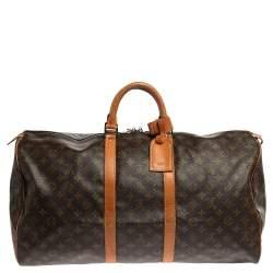 Louis Vuitton Monogram Canvas Vintage Keepall 55 Bag