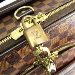 Louis Vuitton Damier Ebene Canvas Soft Case Pegase 55 Trolley Bag