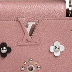 Louis Vuitton Magnolia Taurillon Leather Mechanical Flower Capucines BB Bag