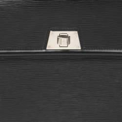 Louis Vuitton Black Epi Leather Sevigne GM Bag