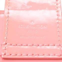 Louis Vuitton Pink Monogram Vernis Jungle Dots Open Tote Bag
