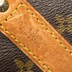Louis Vuitton Monogram Canvas Keepall Bandouliere 60 Bag