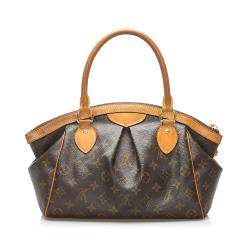 Louis Vuitton Brown Monogram Canvas Tivoli PM Bag