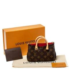 Louis Vuitton Monogram Canvas Nano Pallas Bag