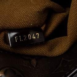 Louis Vuitton Bronze/Dark Brown Monogram Embossed Leather Limited Edition Sergent PM Bag