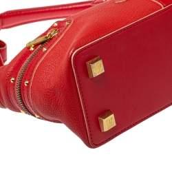 Louis Vuitton Geranium Suhali Leather L'Impetueux Bag