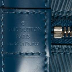 Louis Vuitton Cyan Epi Leather Alma PM Bag