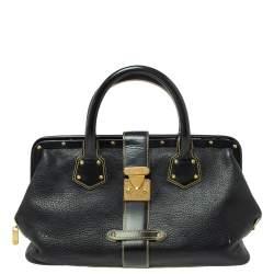 Louis Vuitton Black Suhali Leather L'Ingenieux PM Bag