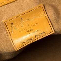 Louis Vuitton Richard Prince Monogram Limited Edition Watercolor Aquarelle Jamais Bag