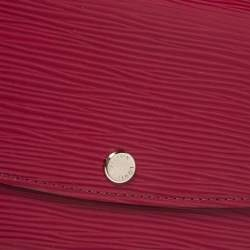 Louis Vuitton Fuchsia Epi Leather Emilie Wallet