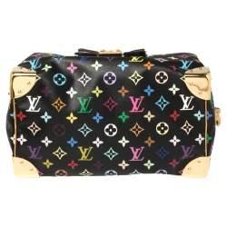 Louis Vuitton Black Monogram Multicolore Canvas Speedy 30 Bag