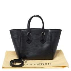 Louis Vuitton Black Epi Leather Phenix PM Bag
