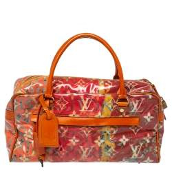 Louis Vuitton Multicolor Monogram Limited Edition Pulp Weekender PM Bag