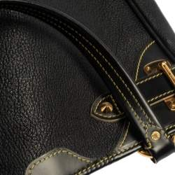 Louis Vuitton Black Suhali Leather Le Majestueux Bag