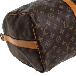 Louis Vuitton Monogram Canvas Keepall Bandouliere 45 Bag