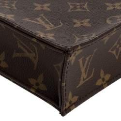 Louis Vuitton Monogram Canvas Petite Sac Plat Bag