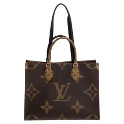 Louis Vuitton Reverse Monogram Canvas Giant Onthego MM Bag