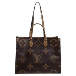 Louis Vuitton Reverse Monogram Canvas Giant Onthego GM Bag