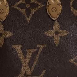 حقيبة لوي فيتون غاينت اونثيغو جي إم كانفاس مونوغرامي ذو وجهين