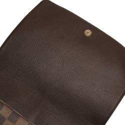 Louis Vuitton Brown Damier Ebene Canvas Musette Tango Bag