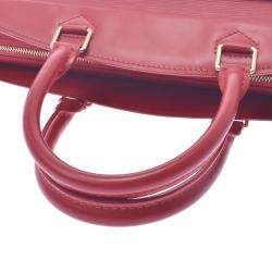 Louis Vuitton Red Epi Leather Riviera Tote Bag
