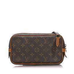 Louis Vuitton Brown Monogram Canvas Marly Bandouliere Bag