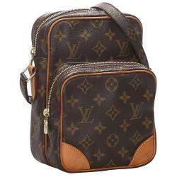 Louis Vuitton Brown Monogram Canvas Amazone Bag