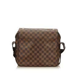 Louis Vuitton Brown Damier Ebene Canvas Naviglio Bag
