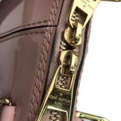 Louis Vuitton Pink Monogram Vernis Mirior Alma BB Bag