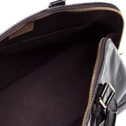 Louis Vuitton Amarante Monogram Vernis Leather Alma PM Bag