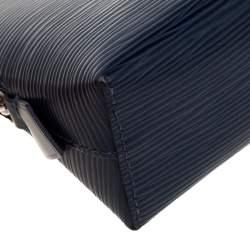 Louis Vuitton Indigo Epi Leather Cosmetic Pouch