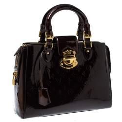 Louis Vuitton Amarante Monogram Vernis Melrose Avenue Bag