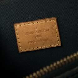 Louis Vuitton Blue Nuit Monogram Vernis Alma GM Bag