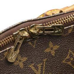 Louis Vuitton Brown Monogram Canvas Keepall 55 Bag