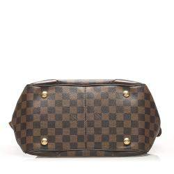 Louis Vuitton Brown Damier Ebene Canvas Verona PM Bag