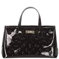 Louis Vuitton Purple Monogram Vernis Wilshire PM bag