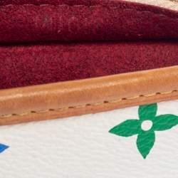 Louis Vuitton White Monogram Multicolore Canvas Shirley Bag