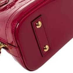Louis Vuitton Indian Rose Monogram Vernis Alma BB Bag