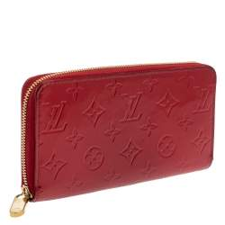 Louis Vuitton Pomme D'amour Monogram Vernis Zippy Wallet