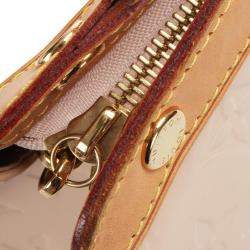 Louis Vuitton Pink Monogram Vernis Brea GM Bag