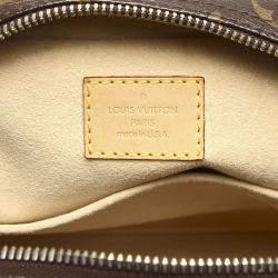 Louis Vuitton Brown Monogram Canvas Manhattan PM bag