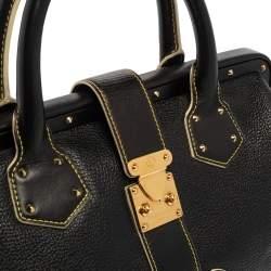 Louis Vuitton Black Suhali Leather Lingenieux PM Bag