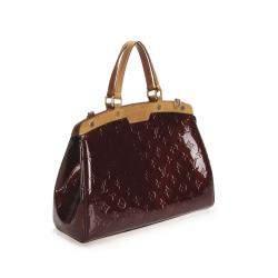 Louis Vuitton Brown Monogram Vernis Brea GM Bag