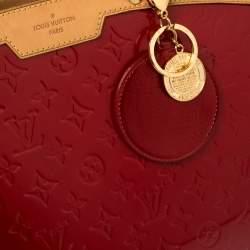 Louis Vuitton Pomme D'amour Monogram Vernis Brea GM Bag