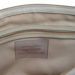 Louis Vuitton White Monogram Limited Edition Sabbia Cabas MM Bag