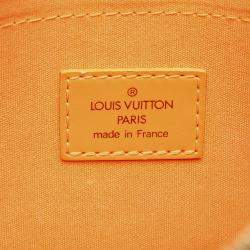 Louis Vuitton Yellow Epi Leather Dhanura PM Bag