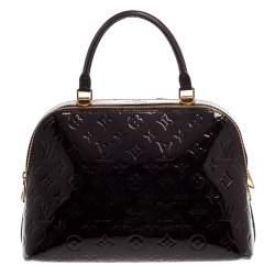 Louis Vuitton Amarante Monogram Vernis Melrose Bag